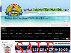 Miniaturka domeny www.koszulkolandia.com