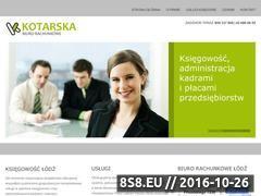 Miniaturka domeny www.kotarska-ksiegowosc.pl