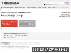 Miniaturka domeny koty-odyseja.com.pl