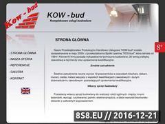 Miniaturka domeny kow-bud.pl