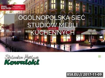 Zrzut strony Stolarstwo meblowe Piotr Kowalski - meble kuchenne