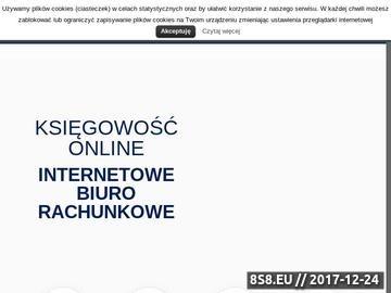 Zrzut strony Biuro rachunkowe online