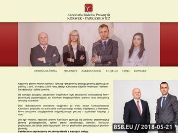 Zrzut strony Radca prawny Olsztyn