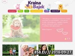 Miniaturka domeny krainabajek.com.pl