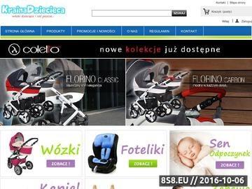 Zrzut strony Wózki i artykuły dziecięce