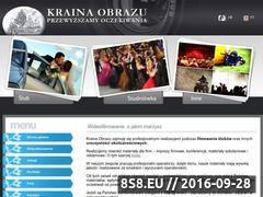 Miniaturka domeny www.krainaobrazu.pl