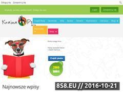 Miniaturka domeny www.krainapsa.pl