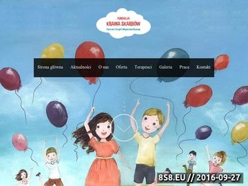 Zrzut strony Najlepszy neurologopeda we Wrocławiu w Krainie Skarbów!