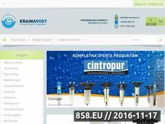 Miniaturka domeny www.krainawody.pl