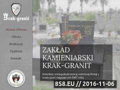 Miniaturka domeny www.krakgranit.pl