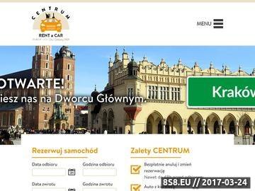 Zrzut strony Wypożyczalnia samochodów Kraków Główny