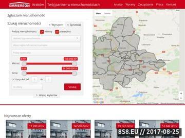 Zrzut strony Mieszkania, domy, biura - Emmerson Kraków