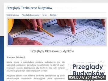 Zrzut strony Przeglądy Budowlane Kraków
