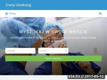 Zrzut strony Ginekolog Kraków - cennik