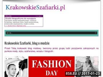 Zrzut strony Blog modowy Krakowskie Szafiarki