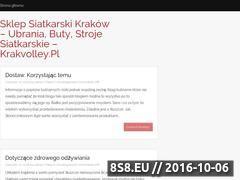 Miniaturka domeny www.krakvolley.pl