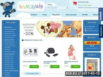 Zrzut strony Sklep dziecięcy - artykuły dla dzieci: meble, łóżeczka, kojce i foteliki