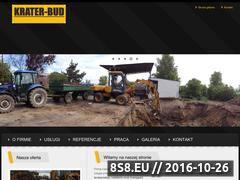 Miniaturka domeny www.krater-bud.pl
