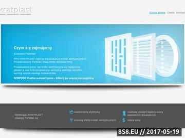 Zrzut strony Kratki wentylacyjne - PPH KRATPLAST