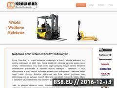 Miniaturka domeny www.kraw-mar.pl