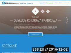 Miniaturka domeny www.kreatywnyksiegowy.pl