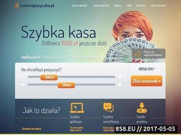 Zrzut strony Kredyt gotówkowy