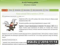 Miniaturka domeny kredyt-leasing-gielda.pl