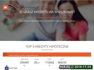 Zrzut strony Porównywarka kredytów hipotecznych - Kredyt Na Nieruchomość