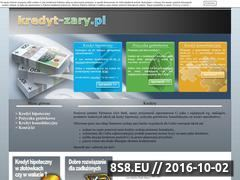 Miniaturka domeny kredyt-zary.pl