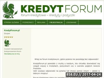 Zrzut strony Forum kredytowe