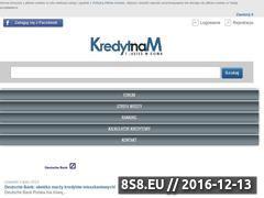 Miniaturka domeny kredytnam.pl