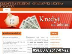 Miniaturka domeny kredytnatelefon.net.pl
