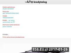 Miniaturka domeny www.kredytolog.com