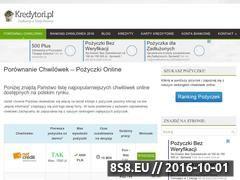 Miniaturka Chwilówki przez internet bez BIK (kredytori.pl)