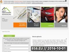 Miniaturka domeny kredytsamochodowy24.eu