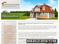 Miniaturka domeny www.kredyty-mieszkaniowe.info