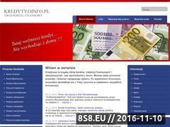 Miniaturka domeny www.kredyty.oinfo.pl