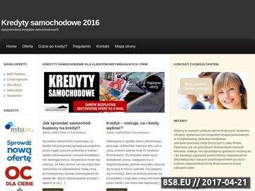 Zrzut strony Firmy leasingowe Kraków