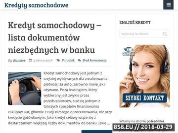 Zrzut strony Kredyty, leasing Katowice