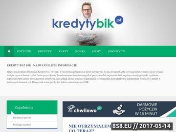 Zrzut strony Kretyty i pożyczki bez BIK - blog
