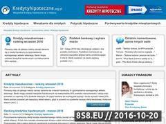 Miniaturka domeny www.kredytyhipoteczne.org.pl