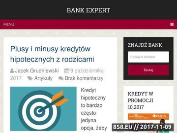 Zrzut strony Lokaty bankowe