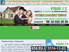 Miniaturka domeny www.kredytysochaczew.pl