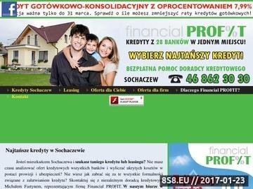 Zrzut strony Leasing Sochaczew