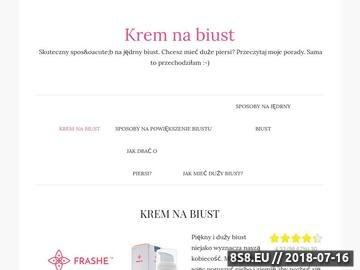Zrzut strony Kremy na ujędrnienie biustu