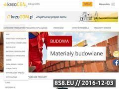 Miniaturka domeny kreocen.pl