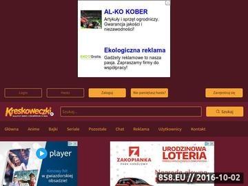 Zrzut strony Bajki online