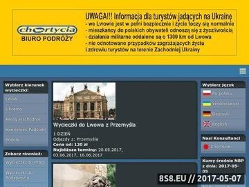 Zrzut strony Wycieczki do Lwowa z Przemyśla