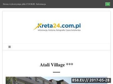 Zrzut strony Kreta24 - zwiedzanie Krety