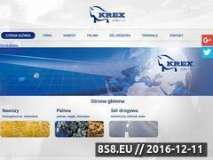 Miniaturka domeny www.krex.com.pl